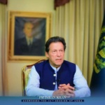 PM Imran Khan addressed the 75th session of the UNGA 2020 via video link from Islamabad. This is the first time in history when the session is being held virtually due to #covid_19 .
